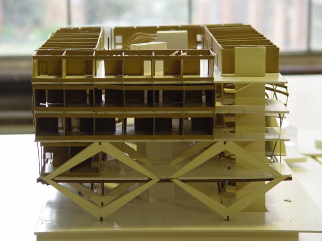 Maquette du Projet de l' Holiday Inn Express