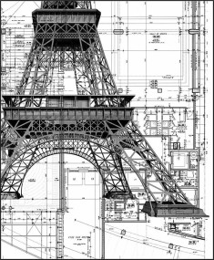 les dessins de la Tour Eiffel