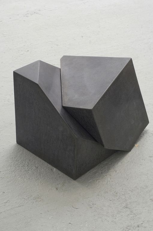 Tristan Cochrane Polished Concrete 'Faultline/Concrete Stool', 2008. FAULTLINE/CONCR ...