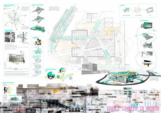 Bustler: Winners of the third edition IS ARCH Awards Honorable Mention: GOOGLE COMPLEX IN MADRID ...