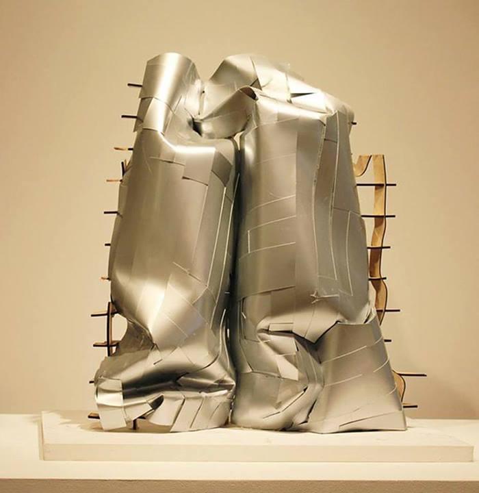 frank gehry + lesly feely fine art (model photo) – sonderborg kunsthalle – new york, ...