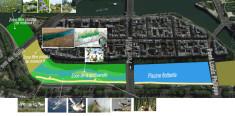 Création d'une éco-piscine flottante sur la Seine