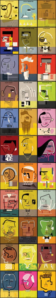 Archi Portrait Series by Federico Babina