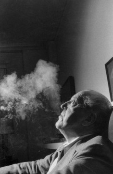 Ludwig Mies van der Rohe, architect, 1956